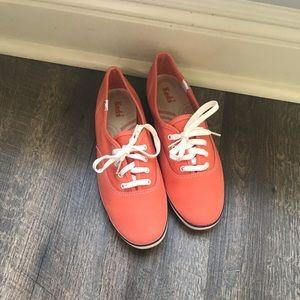 Orange Canvas KEDS